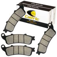 Caltric - Caltric Front Brake Pads MP122+MP122