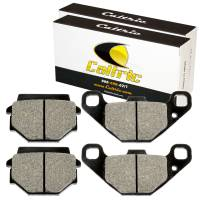 Caltric - Caltric Front Brake Pads MP241+MP241