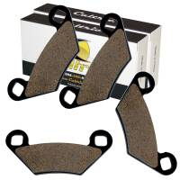 Caltric - Caltric Front Brake Pads MP281+MP281