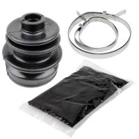 Caltric - Caltric Front Axle Outer CV Joint Boot Kit BO136