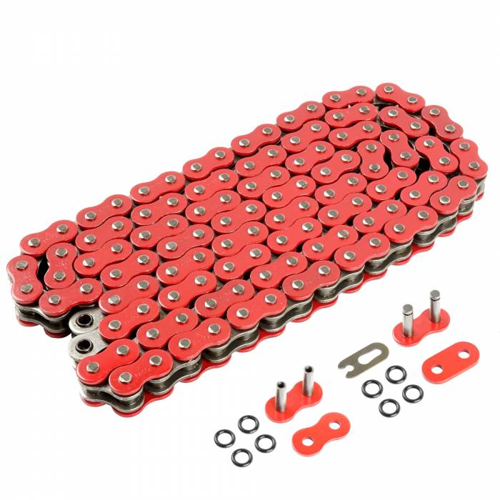 Caltric - Caltric O-Ring Red Drive Chains CH122-120L-3