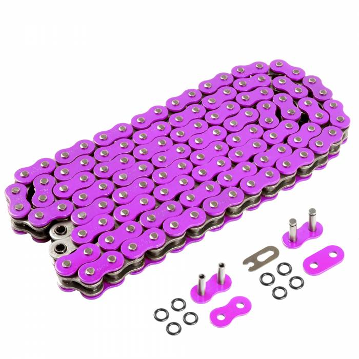 Caltric - Caltric O-Ring Purple Drive Chains CH128-120L-3