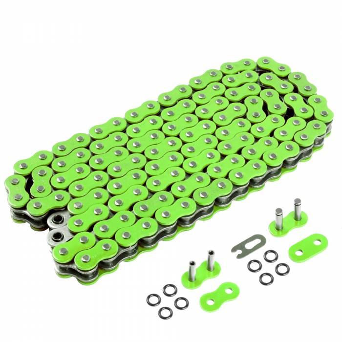Caltric - Caltric O-Ring Green Drive Chain CH163-120L-2