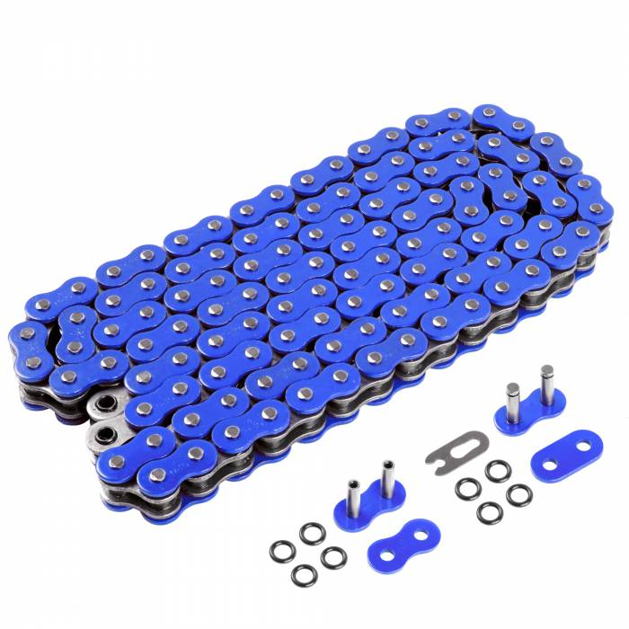Caltric - Caltric O-Ring Blue Drive Chain CH205-120L-2