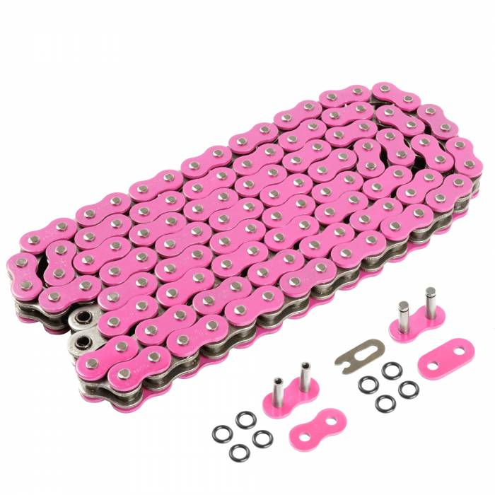 Caltric - Caltric O-Ring Pink Drive Chain CH211-120L-2