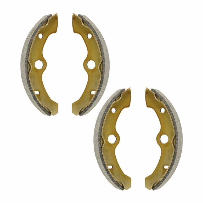 Caltric - Caltric Front Brake Shoes BS140+BS140