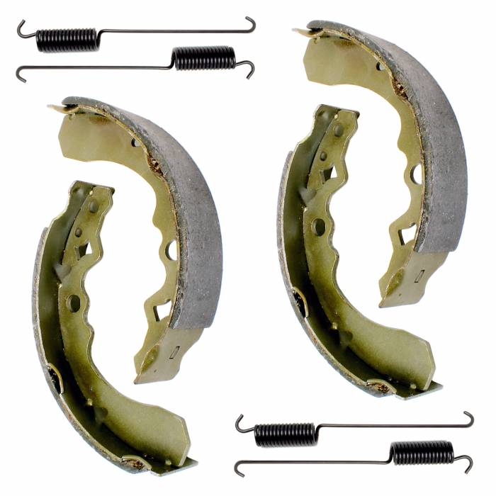 Caltric - Caltric Front Brake Shoes BS153+BS153