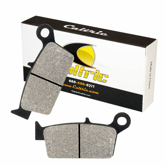 Caltric - Caltric Rear Brake Pads MP127