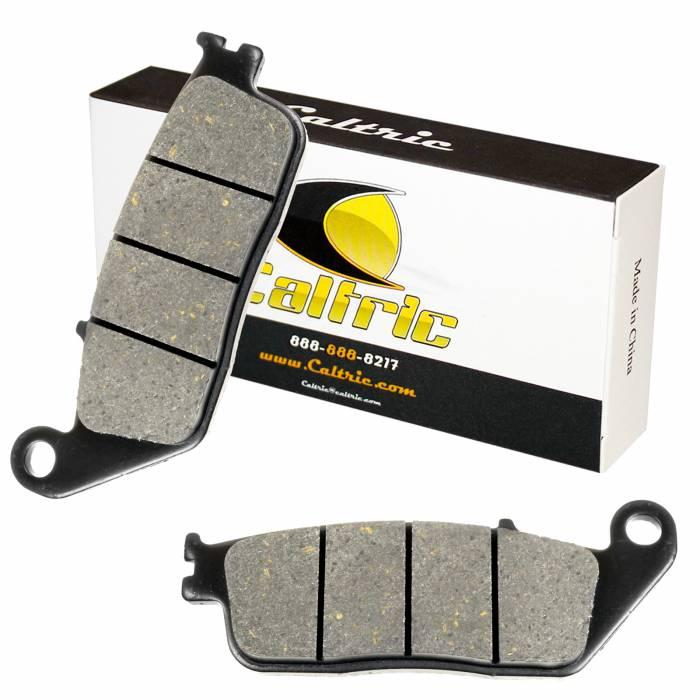 Caltric - Caltric Front Brake Pads MP128