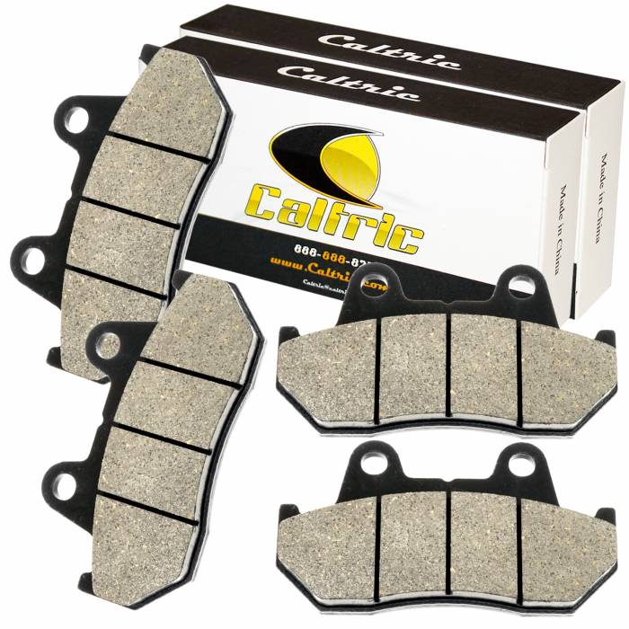 Caltric - Caltric Front Brake Pads MP296+MP296