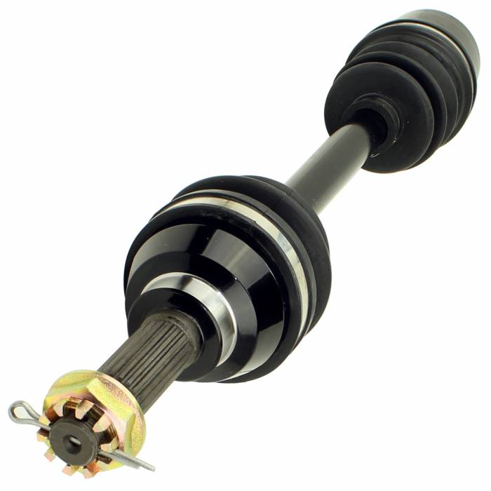 Caltric - Caltric Front Right Complete CV Joint Axle AX124