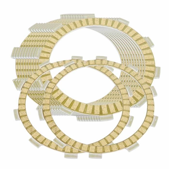 Caltric - Caltric Clutch Friction Plates FP103*2+FP111*10