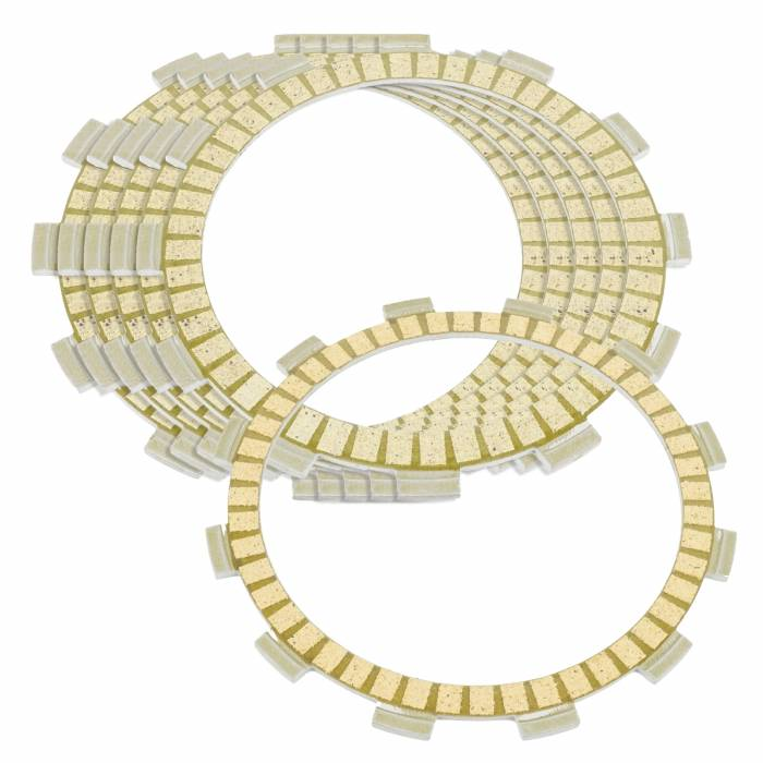 Caltric - Caltric Clutch Friction Plates FP112+FP136*5