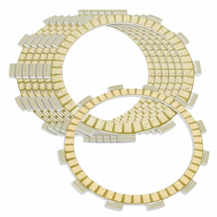 Caltric - Caltric Clutch Friction Plates FP112+FP136*6