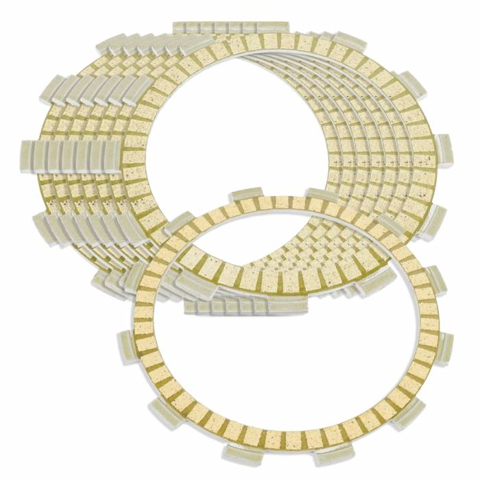 Caltric - Caltric Clutch Friction Plates FP112+FP136*7