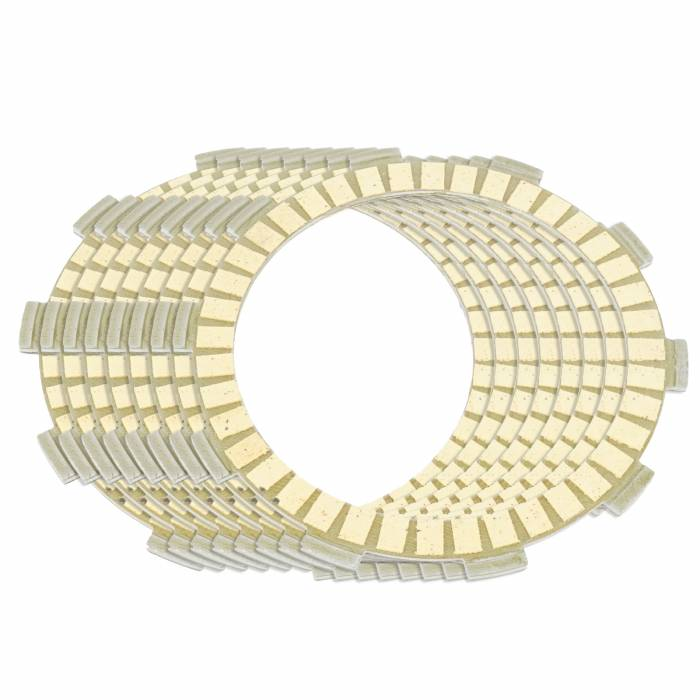Caltric - Caltric Clutch Friction Plates FP114*8