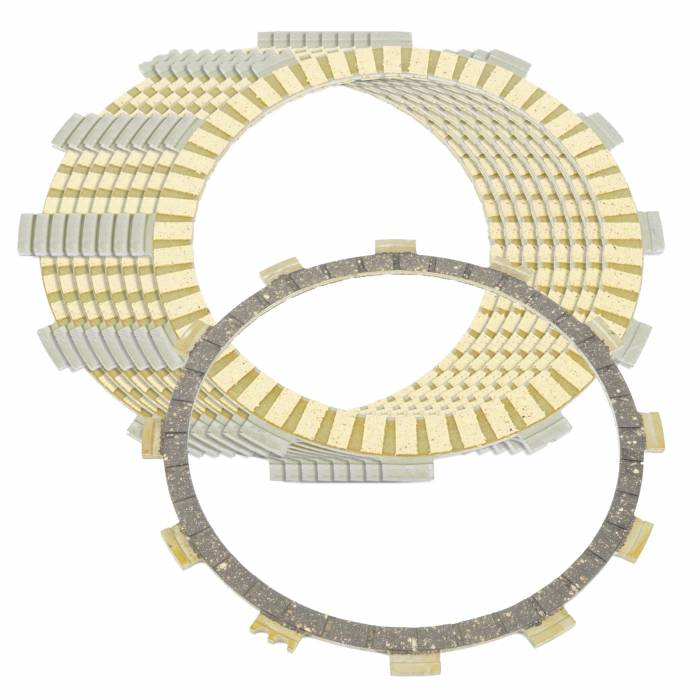 Caltric - Caltric Clutch Friction Plates FP116*8+FP157