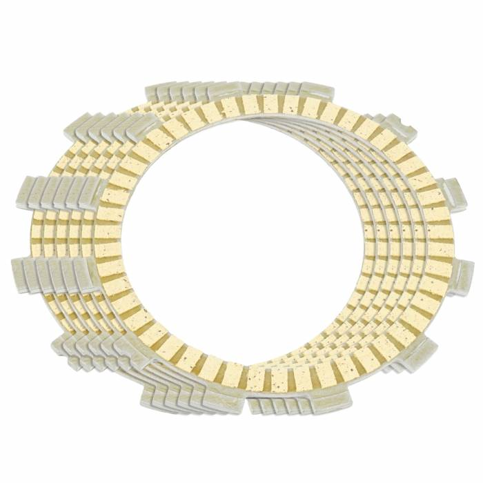 Caltric - Caltric Clutch Friction Plates FP117*6