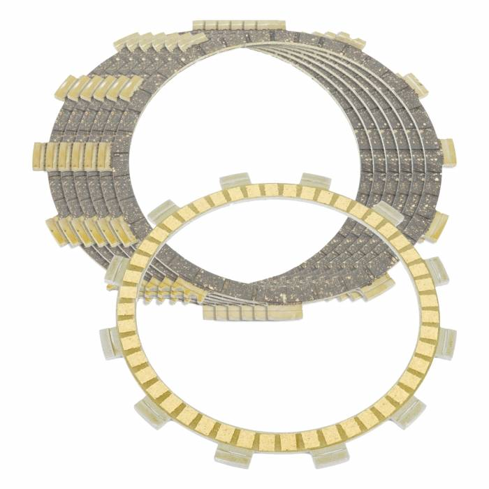 Caltric - Caltric Clutch Friction Plates FP119*2+FP143*6-2