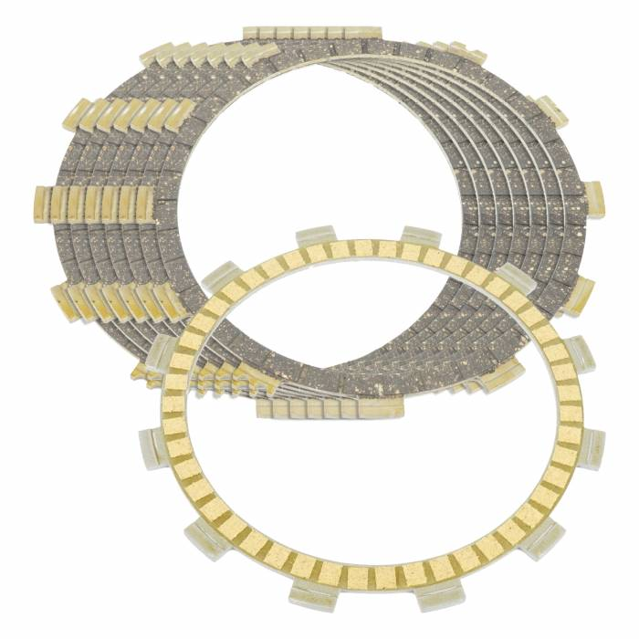 Caltric - Caltric Clutch Friction Plates FP119+FP143*7