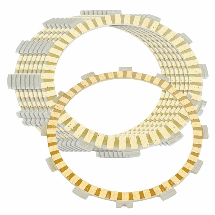 Caltric - Caltric Clutch Friction Plates FP127*7+FP144-2