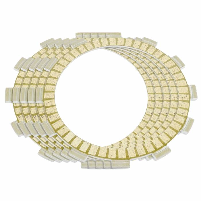 Caltric - Caltric Clutch Friction Plates FP136*5