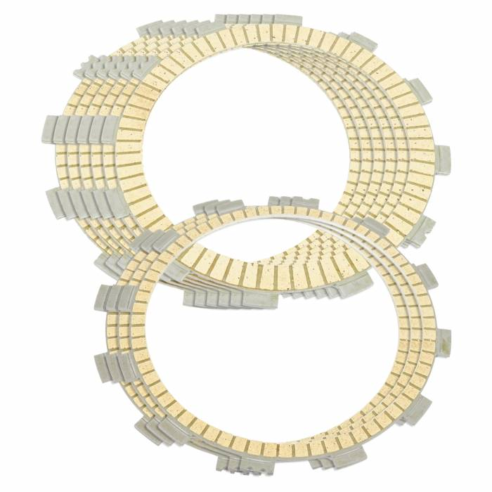 Caltric - Caltric Clutch Friction Plates FP145*6+FP154*3