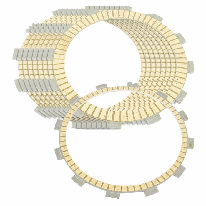 Caltric - Caltric Clutch Friction Plates FP145*8+FP154