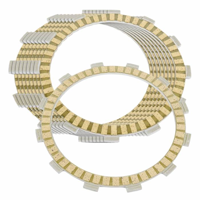 Caltric - Caltric Clutch Friction Plates FP167+FP169*8