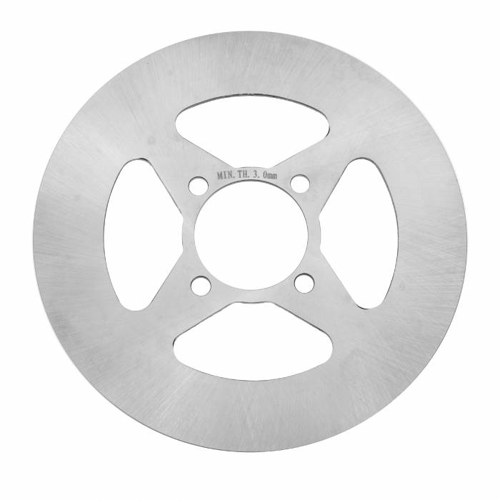 Caltric - Caltric Rear Disc Brake Rotor DS115