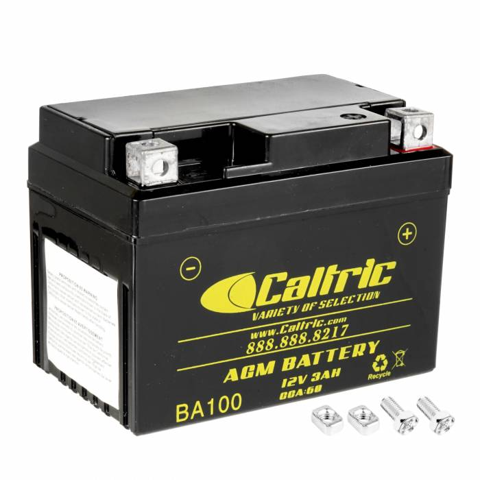 Caltric - Caltric Battery BA100-2