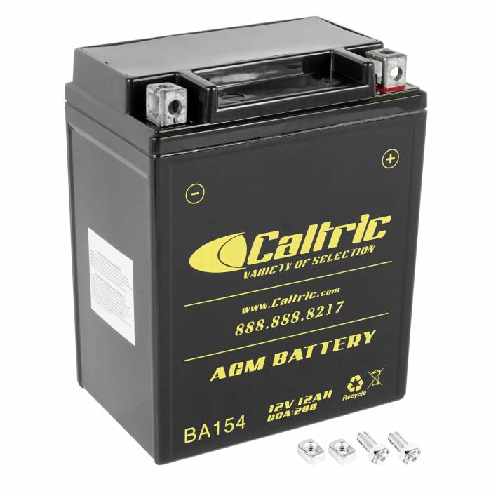 Caltric - Caltric Battery BA154