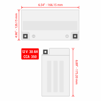Caltric - Caltric Battery BA200 - Image 4