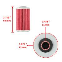 Caltric - Caltric Oil Filter FL105-2 - Image 3