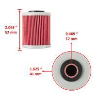Caltric - Caltric Oil Filter FL106 - Image 3