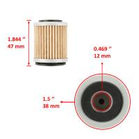 Caltric - Caltric Oil Filter FL117-2 - Image 3